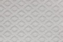 Zakończenie up szary tkanina projekta wzór Obraz Royalty Free