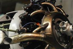 Zakończenie widok promieniowy silnik Zdjęcia Royalty Free