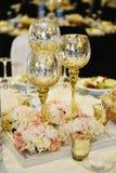Zakończenie cateringu stołu set Zdjęcia Stock