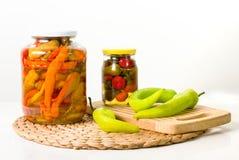zakonserwowany warzywa Fotografia Stock