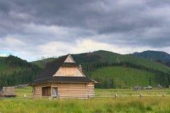 Zakopane, cabañas de la montaña, Fotos de archivo