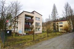 Zakopane, lokalowa nieruchomość przy Chalubinskiego ulicą Obraz Stock