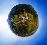Zakopane Poland, Aerial panorama photography. Poland mountains Tatry royalty free stock images