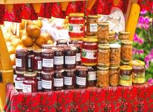 Zakopane, Poland - August 24, 2015: Taditional polish food. Royalty Free Stock Image