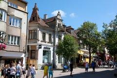 Zwolinski House on Krupowki Street Stock Photography