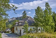 ZAKOPANE, POLAND - SEPTEMBER 10, 2017: Museum the Tatra National Stock Photos