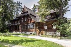Zakopane Style Museum in the historic Villa Koliba Stock Image
