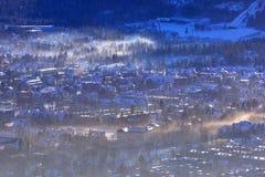 Zakopane at Tatra mountains in winter Stock Photos