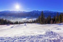 Zakopane at Tatra mountains in winter Stock Image
