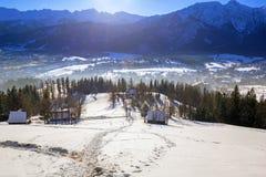 Zakopane at Tatra mountains in winter Stock Photo