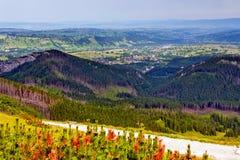 Zakopane and Tatras mountains Royalty Free Stock Photography