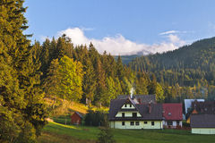 Zakopane town and landscape Royalty Free Stock Photography