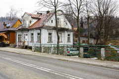 Zakopane, villa a appelé Bright House Photographie stock