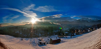 Zakopane - Winter landscape Stock Photos