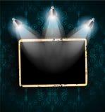 Zakłopotani antyków photoframes Zdjęcia Royalty Free
