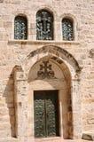 zakopujący kościół zawiera tłumów ukrzyżowany święty Israel Jerusalem Jesus miejsce mówić sepulchre miejsce gdzie był Miejsce jes Obrazy Stock