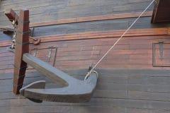 Zakotwicza w łusce antyczny okręt wojenny Zdjęcia Royalty Free