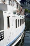 zakotwiczająca łódź. fotografia stock