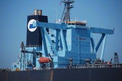 zakotwienie czarny wielki Singapore tankowiec Zdjęcie Stock