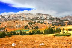 zakres Wyoming obraz royalty free