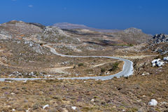 Zakros mountain at Crete, Greece Royalty Free Stock Photos