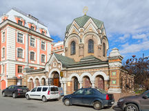 Zakrystia Iberyjska ikona matka bóg muzeum kamień, St Petersburg, Rosja Obraz Stock