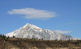 zakrywać góry śnieżne Zdjęcie Royalty Free