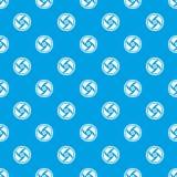 Zakrywający celu wzoru bezszwowy błękit ilustracja wektor