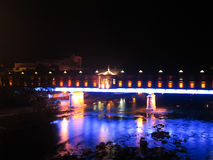 Zakrywający most obraz stock
