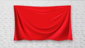 Zakrywający obrazek Na Ceglanej rewolucjonistki kanwy ściany tła wektorze ilustracja wektor