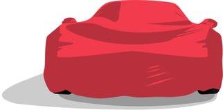 Zakrywający sportowy samochód royalty ilustracja