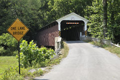 Zakrywający most Fotografia Stock