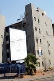 Zakrywający parking pod budynkiem mieszkaniowym w Johannesburg obrazy royalty free