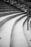 zakrzywione schody Obrazy Stock
