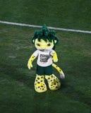 Zakumi - mascota surafricana 2010 Imágenes de archivo libres de regalías