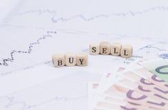 Zakup i bubel obrazy stock