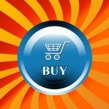 zakup ikona Fotografia Stock