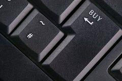 zakup kluczowe klawiatura Fotografia Royalty Free