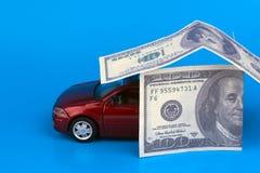 Zakup, sprzedaż lub ubezpieczenie samochodu, Obraz Royalty Free