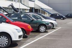Zakupu i bubla pojazdy Obraz Stock