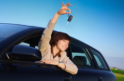 zakupu samochód Fotografia Stock