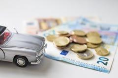 Zakupu samochodu pojęcie obraz royalty free