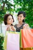 Zakupów przyjaciele Fotografia Stock
