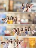 zakupy azjatykcia kobieta Zdjęcia Royalty Free