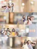 zakupy azjatykcia kobieta Obraz Royalty Free