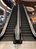 Zakupy Centet eskalator Zdjęcia Stock