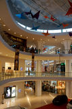 Zakupy centrum handlowe Obraz Royalty Free