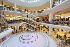 Zakupy centrum handlowe Obrazy Royalty Free