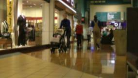 Zakupy centrum handlowe - czasu upływ zbiory wideo