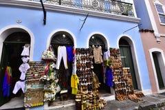 Zakupy centrum handlowe Pelourinho, Salvador zdjęcia stock